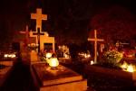 Nowy Cmentarz Rozaniec 01.11.2015 Foto: Krzysztof Kosiarski