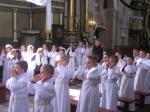 Dzieci pierwszokomunijne w Skępem 12.05.2010