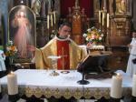 Neoprezbiter o. Hieronim ofm w naszej parafii - 30.05.2010
