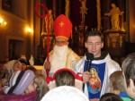 Mikolaj w kościele 06.12.2013r.