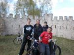 Wycieczka rowerowa ministrantów do Służewa 24.04.2010