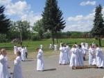 Pielgrzymka dzieci do Skępego 21.05.2013 cz. 2